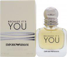 Image of Giorgio Armani Because It's You Eau de Parfum 30ml Spray