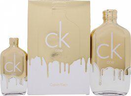 Calvin Klein CK One Gold Gift Set 200ml EDT + 50ml EDT