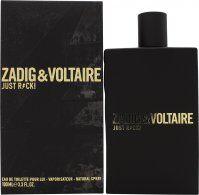 Zadig & Voltaire Just Rock! for Him Eau de Toilette 100ml Spray