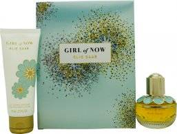 Elie Saab Girl of Now Gift Set 30ml EDP + 75ml Body Cream