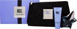 Thierry Mugler Angel Gift Seto 25ml EDP + 50ml Bdy Lotion + Makeup Bag