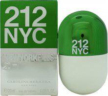 Image of Carolina Herrera 212 NYC Pills Eau de Toilette 20ml Spray