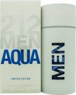 Image of Carolina Herrera 212 Men Aqua Eau de Toilette 100ml Spray