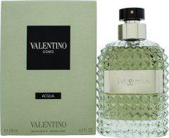 Valentino Uomo Acqua Eau de Toilette 125ml Spray