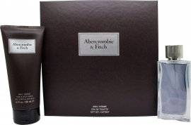 Abercrombie & Fitch First Instinct Gift Set 100ml EDT + 200ml Body Wash