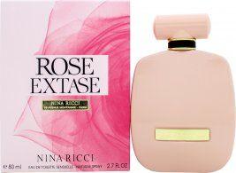 Nina Ricci Rose Extase Eau de Toilette 80ml Spray