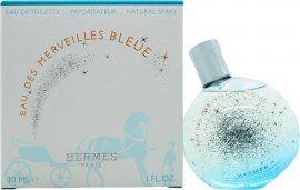 Hermes Eau des Merveilles Bleue Eau de Toilette 30ml Spray