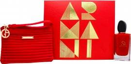 Giorgio Armani Si Passione Gift Set 100ml EDP + Beauty Bag
