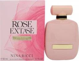 Nina Ricci Rose Extase Eau de Toilette 50ml Spray