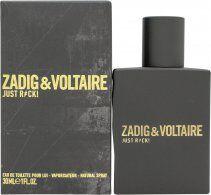 Zadig & Voltaire Just Rock! for Him Eau de Toilette 30ml Spray