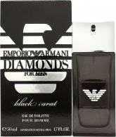 Image of Giorgio Armani Emporio Diamonds Black Carat for Men Eau de Toilette 50ml Suihke