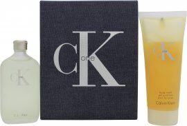 Calvin Klein CK One Lahjasetti 50ml EDT + 100ml Vartalon pesuneste