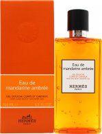 Hermes Eau de Mandarine Ambrée Hair & Body Shower Gel 200ml
