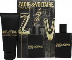 Zadig & Voltaire Just Rock! for Him Gift Set 50ml EDT + 100ml Shower Gel