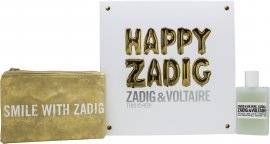 Zadig & Voltaire This is Her Gift Set 50ml EDP + Golden Pouch
