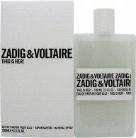 Zadig & Voltaire This is Her Eau de Parfum 100ml Spray