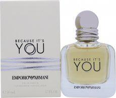 Image of Giorgio Armani Because It's You Eau de Parfum 50ml Spray