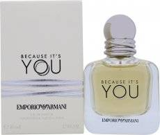 Image of Giorgio Armani Because It's You Eau de Parfum 50ml Spray