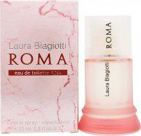 Laura Biagiotti Roma Eau De Toilette Rosa 25ml Spray