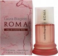 Laura Biagiotti Roma Eau De Toilette Rosa 50ml Spray