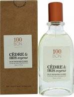 Image of 100BON Cèdre & Iris Soyeux Refillable Eau de Parfum 50ml Spray