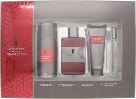 Antonio Banderas The Secret Temptation Gift Set 100ml EDT + 10ml EDT + 150ml Deodorant Spray + 50ml Aftershave Balm