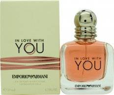 Image of Giorgio Armani Emporio Armani In Love With You for Her Eau de Parfum 50ml Spray
