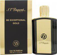 S.T. Dupont Be Exceptional Gold Eau de Parfum 100ml Spray