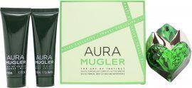 Thierry Mugler Aura Gift Set 50ml EDP + 50ml Body Lotion + 50ml Shower Gel