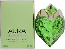 Thierry Mugler Aura Eau de Toilette 90ml Refillable Spray