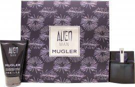 Thierry Mugler Alien Man Gift Set 50ml EDT + 50ml Shampoo