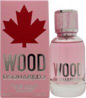 DSquared2 Wood For Her Eau de Toilette 50ml Spray