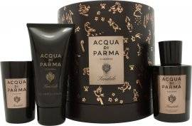 Acqua di Parma Colonia Sandalo Gift Set 100ml EDC + 75ml Shower Gel + 65g Candle