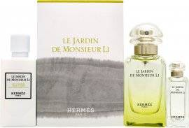 Hermes Hermès Le Jardin de Monsieur Li Gift Set 50ml EDT + 7.5ml EDT Mini + 40ml Body Lotion