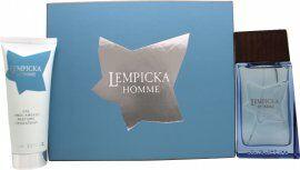 Lolita Lempicka Homme Gift Set 100ml EDT + 75ml Aftershave Balm