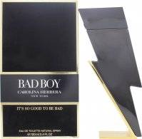 Image of Carolina Herrera Bad Boy Eau de Toilette 100ml Spray