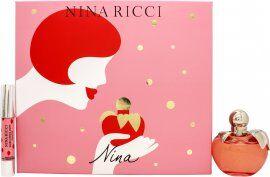 Nina Ricci Nina Gift Set 80ml EDT + 2.5g Lipstick