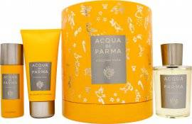 Acqua di Parma Colonia Pura Gift Set 100ml EDC + 75ml Shower Gel + 50ml Deodorant Spray