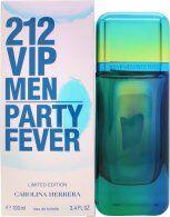 Image of Carolina Herrera 212 VIP Men Party Fever Eau de Toilette 100ml Spray