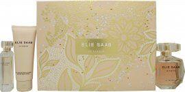 Elie Saab Le Parfum Gift Set 90ml EDP + 75ml Body Lotion + 10ml EDP