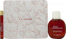 Clarins Eau Dynamisante Gift Set 100ml EDT + 10ml EDT