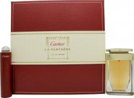 Cartier La Panthère Gift Set 75ml EDP + 15ml EDP