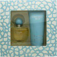 Oscar de la Renta Something Blue Gift Set 100ml EDP + 200ml Body Lotion