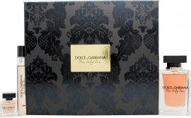 Dolce & Gabbana The Only One Gift Set 100ml EDP + 10ml EDP + 7.5ml EDP