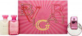 Bvlgari Omnia Pink Sapphire Gift Set 40ml EDT + 40ml Body Lotion + 40ml Shower Gel