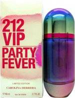 Image of Carolina Herrera 212 VIP Party Fever Eau de Toilette 80ml Spray