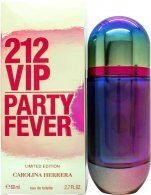 Image of Carolina Herrera 212 VIP Party Fever Eau de Toilette 80ml Spray