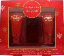 Elizabeth Arden Red Door Lahjasetti 30ml EDT + 50ml Vartalovoide + 50ml Kylpy & Suihkugeeli