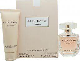 Elie Saab Le Parfum Gift Set 90ml EDP + 75ml Body Lotion