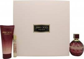 Jimmy Choo Fever Gift Set 100ml EDP + 100ml Body Lotion + 7.5ml EDP